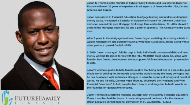 International Financial Expert - Jason Thomas